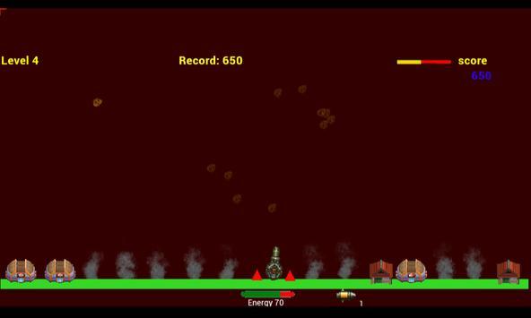 E.T Alien Invasion Meteors apk screenshot