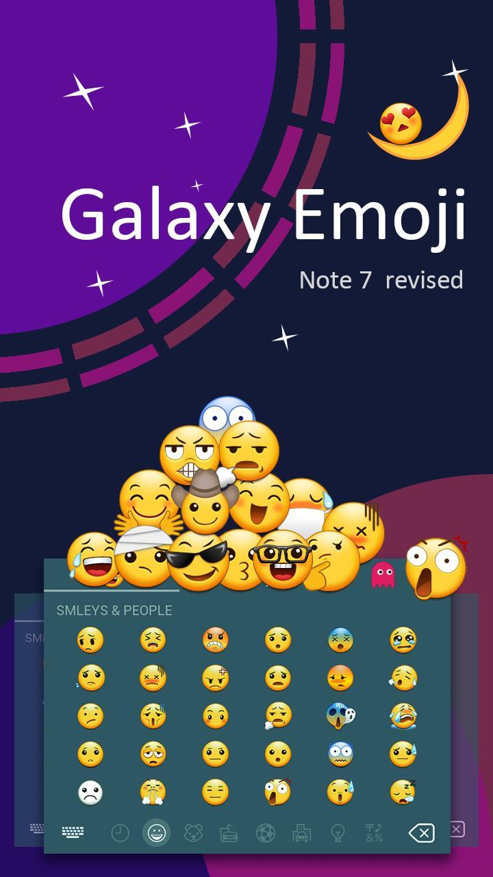 Galaxy theme for emoji – vast galaxy keyboard for Android