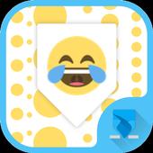 Keyboard for emoji one icon