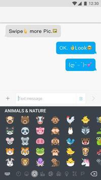 Keyboard for emoji one screenshot 1