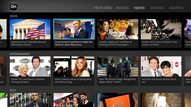 AOL On for Google TV screenshot 3