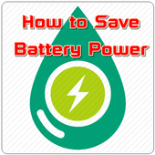 How to Save Battery Power icon