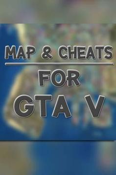 Map & Cheats for GTA V apk screenshot