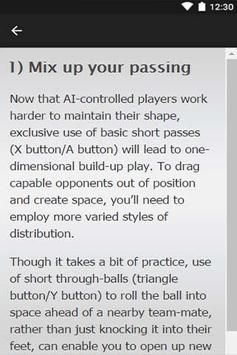 Guide FIFA 16 GamePlay apk screenshot