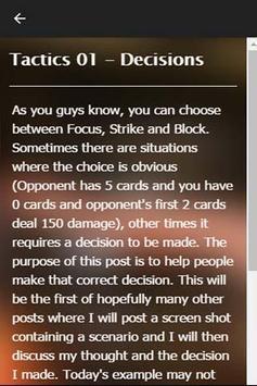 Guide Tekken Card 16 apk screenshot