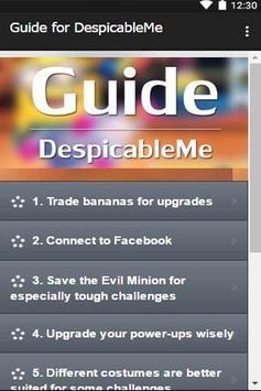 Guide for DespicableMe apk screenshot