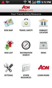 Aon WorldAware Enterprise poster