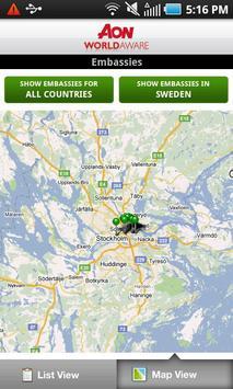 Aon WorldAware Enterprise screenshot 4