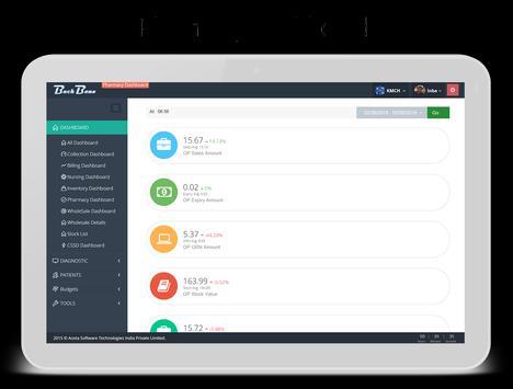 BackBone Dashboard screenshot 8