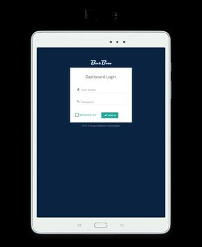 BackBone Dashboard screenshot 11