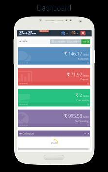 BackBone Dashboard screenshot 1