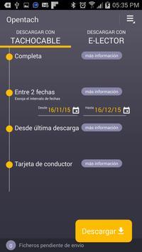 OPENTACH | Descarga de datos screenshot 4
