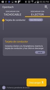 OPENTACH | Descarga de datos screenshot 5