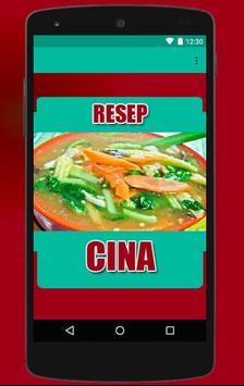 Resep Masakan China poster