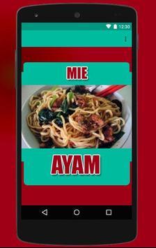 Mie Ayam Pilihan Resep apk screenshot