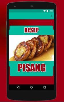 Olahan Pisang Enak & Lezat poster