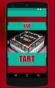 Resep Kue Tart Pilihan apk screenshot