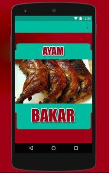 Resep Ayam Bakar Pilihan poster
