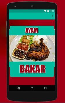Resep Ayam Bakar Pilihan apk screenshot