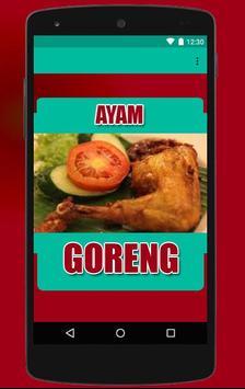 Resep Ayam Goreng poster