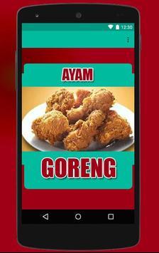 Resep Ayam Goreng screenshot 1