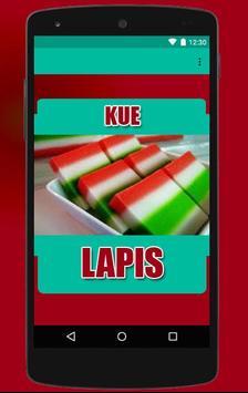 Resep Kue Lapis Enak poster