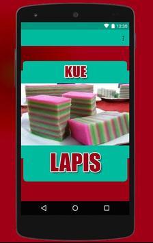 Resep Kue Lapis Enak apk screenshot