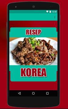 Resep Masakan Korea poster
