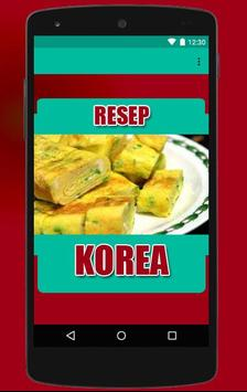 Resep Masakan Korea apk screenshot