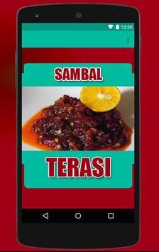 Sambal Terasi poster