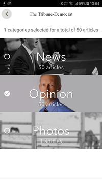 The Tribune-Democrat apk screenshot