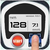 Blood Sugar Fingerprint Test icon