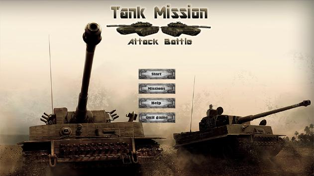 Tank Mission: Attack Battle apk screenshot