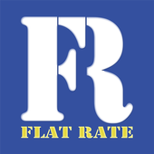 Flat Rate For Hire icon
