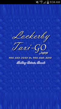 Lockerby Taxi-GO APP poster