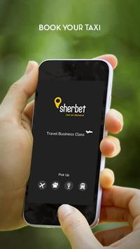 Sherbet Taxis - Black Cab App poster