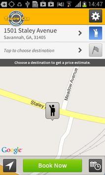 Yellow Cab of Savannah apk screenshot