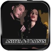 Anitta & J Balvin - Downtown icon