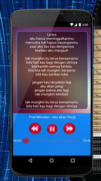 Five Minutes Lagu & Lirik screenshot 3