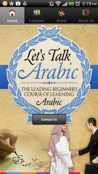 Learn Arabic Easily poster
