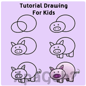 Tutorials Drawing For Kids icon
