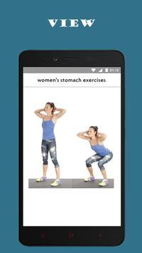 best women's stomach exercises screenshot 1