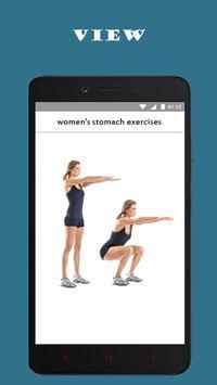 best women's stomach exercises screenshot 2
