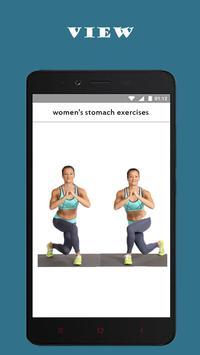 best women's stomach exercises screenshot 3