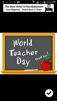 Happy Teacher's Day apk screenshot