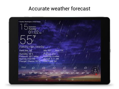 Weather Live Free Apk Screenshot