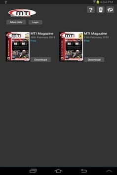 MTI Magazine poster
