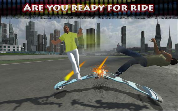 Hoverboard Riding Extreme Race poster