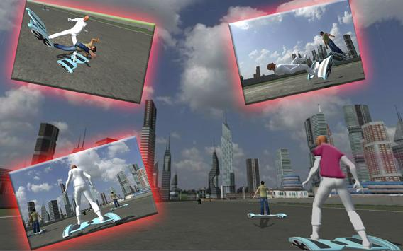 Hoverboard Riding Extreme Race screenshot 1