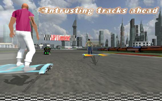 Hoverboard Riding Extreme Race screenshot 2